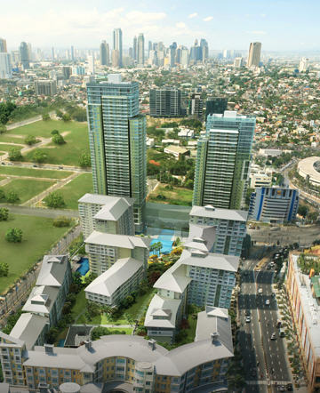 One Serendra Aerial