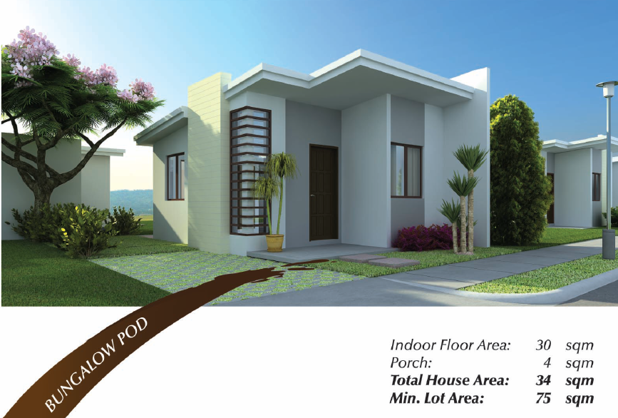 Amaia Land - A Bungalow Pod at North Point (Illustration)