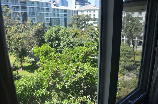View from the masters' bedoom